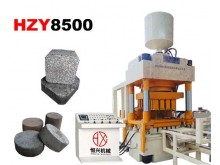 HZY8500 Hydraulic Pressure brick Machine