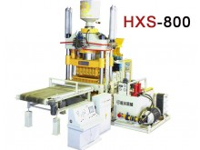 HXS800 Fully Automatic Double Press Concrete Brick Machine